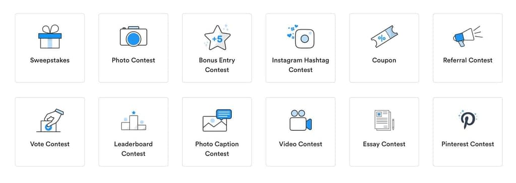 Wishpond's social contest features