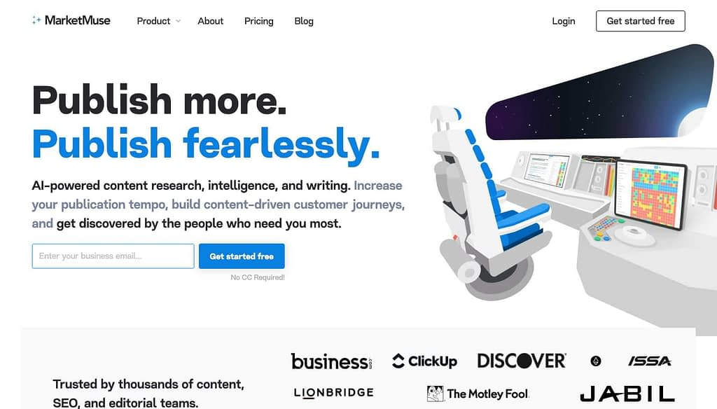 MarketMuse's Homepage