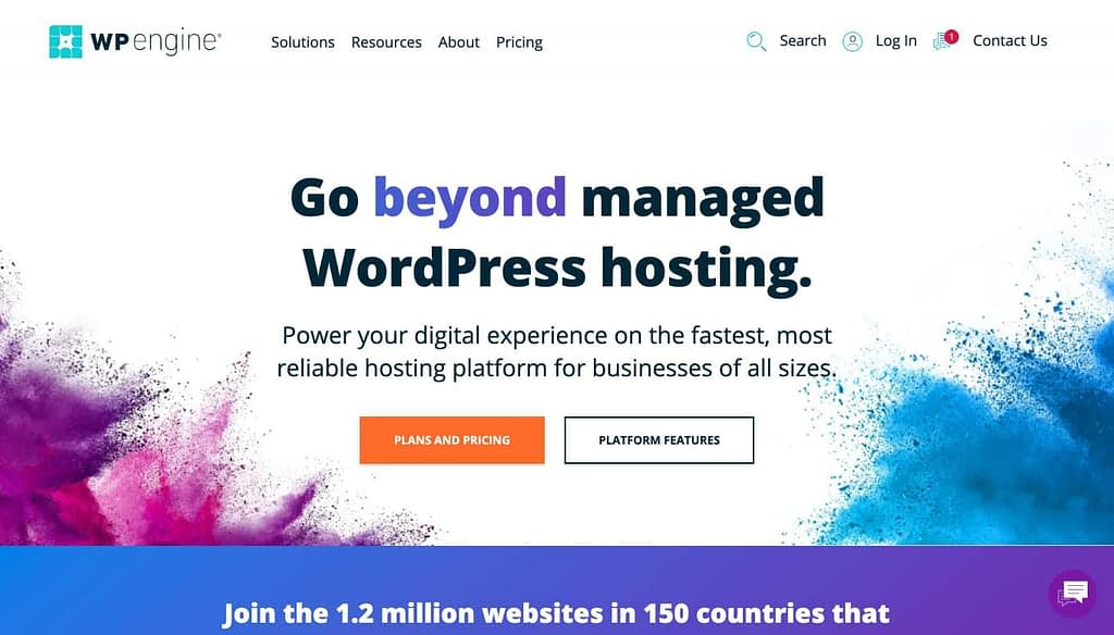 wpengine.com Homepage