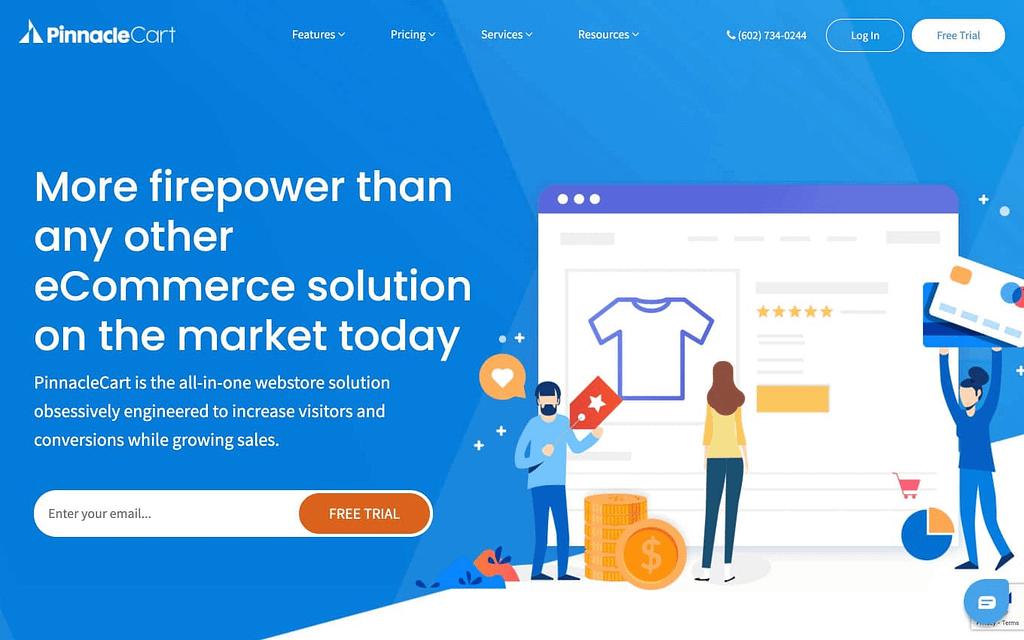 PinnacleCart's Homepage