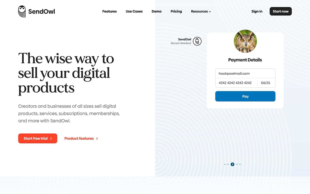 Sendowl's Homepage