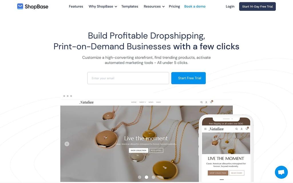ShopBase's Homepage